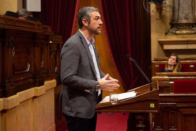 El portaveu adjunt d'ERC en el Parlament, Bernat Solé.
