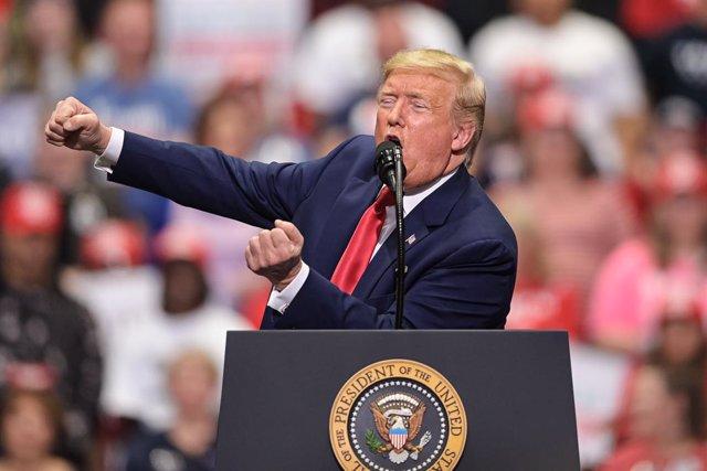 Coronavirus.- Trump suspende los actos de recaudación de fondos para la campaña