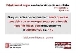 Una campanya promou establiments segurs contra la violència de gènere