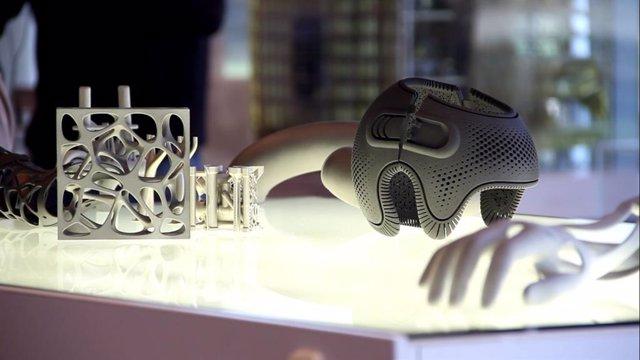 Peces 3D, en una imatge d'arxiu