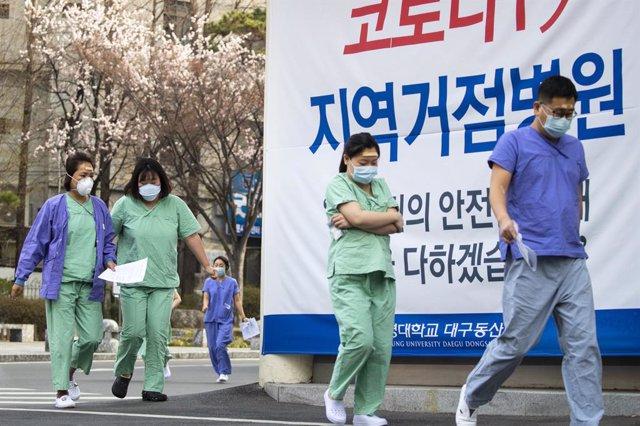 Coronavirus.- Corea del Sur confirma un repunte en los contagios del coronavirus