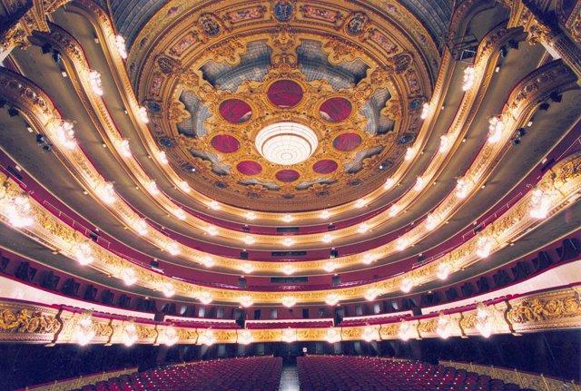 Foto de recurs del Gran Teatre del Liceu