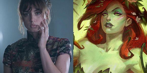 10. Así luce Ana de Armas como Hiedra Venenosa en Gotham City Sirens... o ¿The Batman 2?
