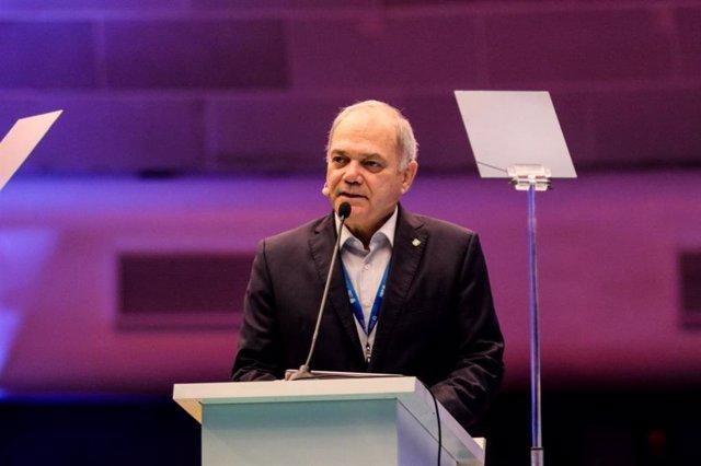 El presidente del El Comité Olímpico de Brasil (COB), Paulo Wanderley