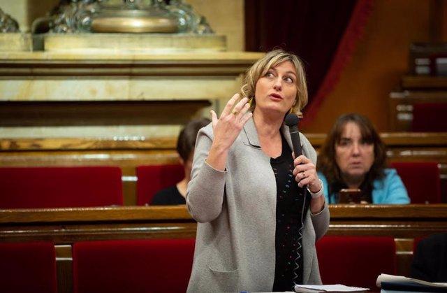 Intervenció de la consellera de Salut, Alba Vergés