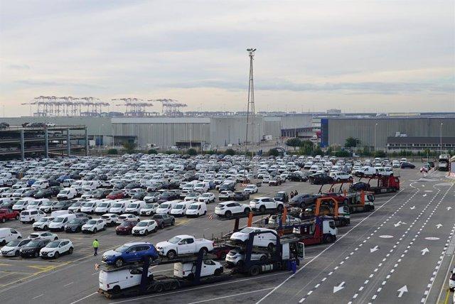 Centre de distribució de Nissan en el Port de Barcelona