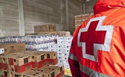 Cruz Roja mantiene el programa de reparto de alimentos que atiende ...