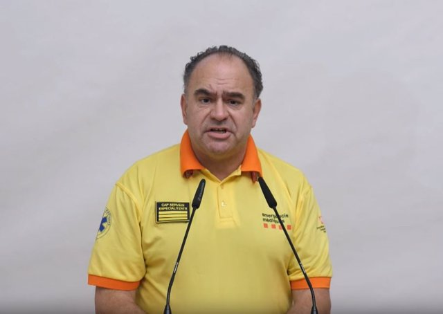 El portaveu del Sistema d'Emergncies Mdiques (SEM), Josep Maria Soto