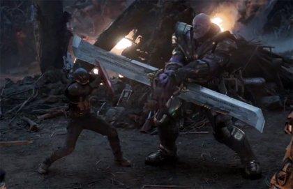 Thanos hace añicos el escudo de Capitán América en un brutal diseño de Vengadores: Endgame