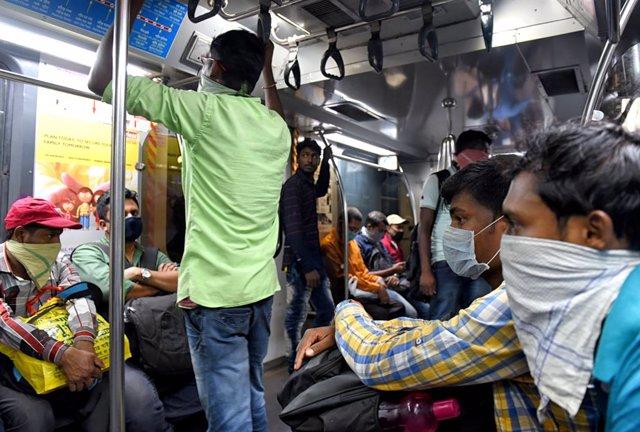 Coronavirus.- India suspende su servicio nacional de trenes hasta el 31 de marzo