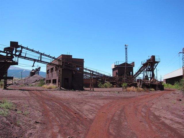 Antiguas minas de Alquife, en imagen de archivo