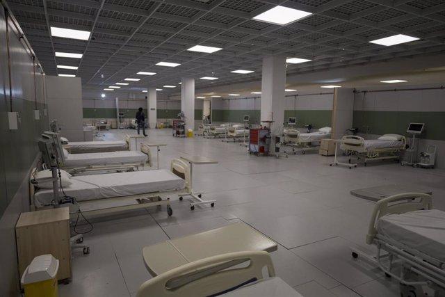 Coronavirus en un hospital de Teherán (Irán)