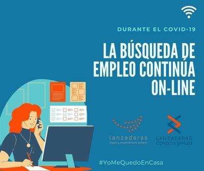 La formación en búsqueda de empleo de la 'Lanzadera Verde' de Huelva continúa en Internet