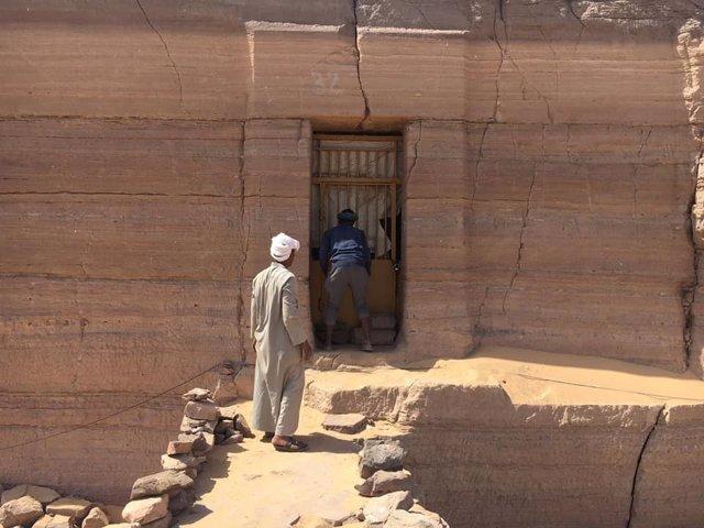 Jaén.- Coronavirus.- Regresan los últimos tres investigadores del Proyecto Qubbet el-Hawa de la UJA en Egipto