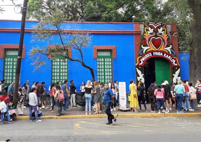 Museo Frida Kalho.