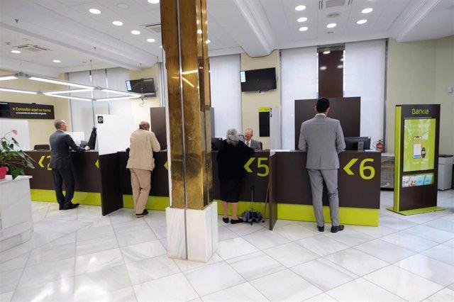 Oficina de Bankia en Granada