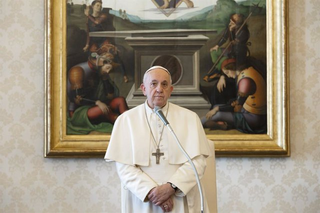 Coronavirus.- El Papa impartirá una bendición 'urbi et orbi' extraordinaria para