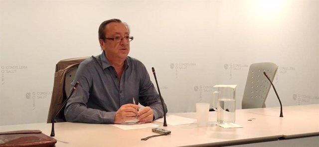 El portavoz del comité de alerta por coronavirus en Baleares, Francesc Albertí.