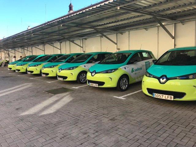 Vehículos sostenibles de Sadeco