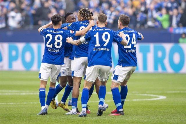 Jugadores del Schalke 04