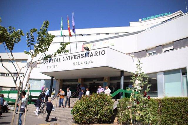 Fachada del Hospital Universitario Virgen Macarena