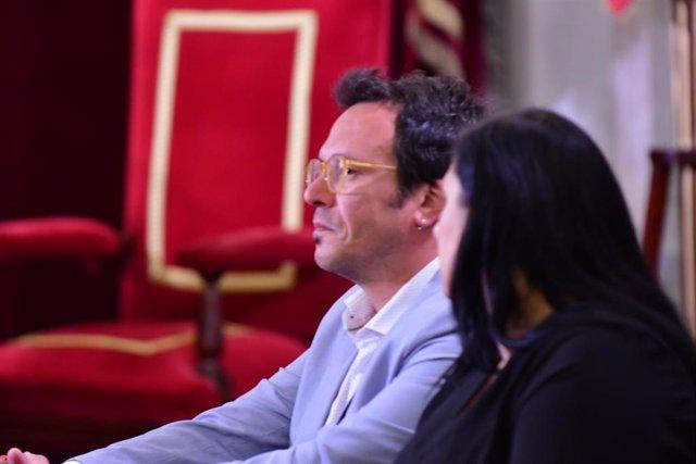 José María González 'Kichi' el dia de su investidura como alcalde en 2019