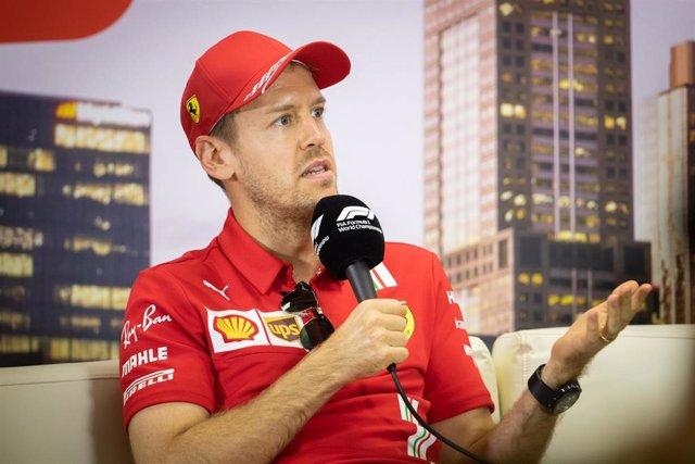 El piloto alemán Sebastian Vettel