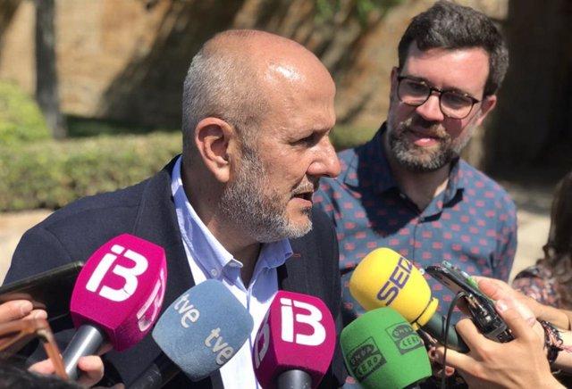 El portavoz parlamentario del Grupo MÉS per Mallorca, Miquel Esenyat.