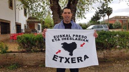 Queda en libertad el preso de ETA Oscar Calabozo tras cumplir 18 años de prisión