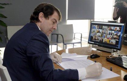 Mañueco respalda la prolongación del Estado de Alarma