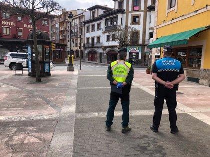 La Guardia Civil denuncia a 147 personas en Asturias este sábado por incumplir el estado de alarma
