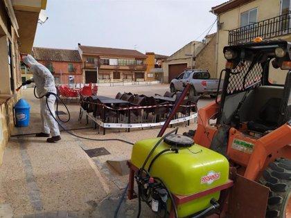 La Diputación de Segovia comienza mañana la desinfección de sitios públicos en municipios de la provincia