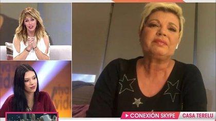 Terelu Campos rompe a llorar al contar cómo está siendo su cuarentena