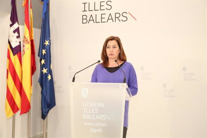 """Armengol asegura que Baleares """"dispone del material que necesita actualmente pero hace falta mucho más"""""""