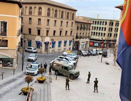 El Ayuntamiento de Monzón habilita la nave de la Azucarera para el Ejército de Tierra