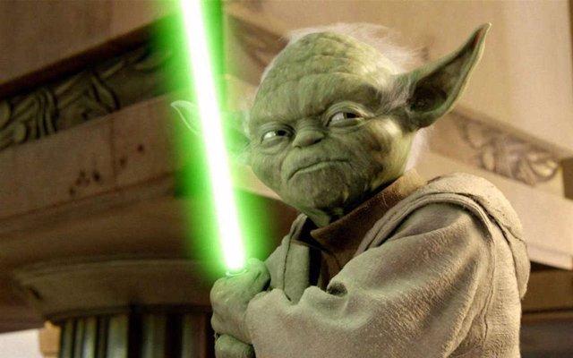 Maestro Yoda en Star Wars