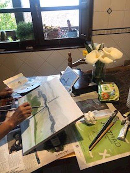 """Camas (Sevilla) planea una """"exposición colectiva"""" y un catálogo con las creaciones artísticas fruto del confinamiento"""