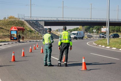 Un fallecido en las carreteras durante el primer fin de semana completo en estado de alarma por el coronavirus