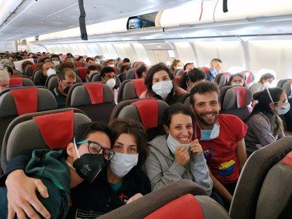 Parte de Ecuador y hacia España un vuelo de repatriación con 344 pasajeros a bordo