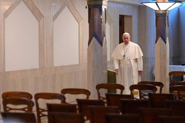 Coronavirus.- El Papa cree que la gestión de la crisis por los líderes políticos