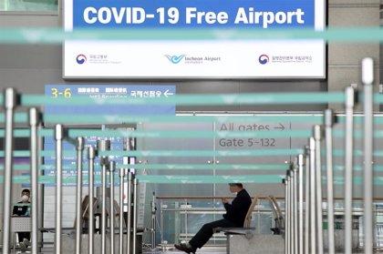 Corea del Sur hace la prueba del coronavirus a todos los pasajeros procedentes de Europa