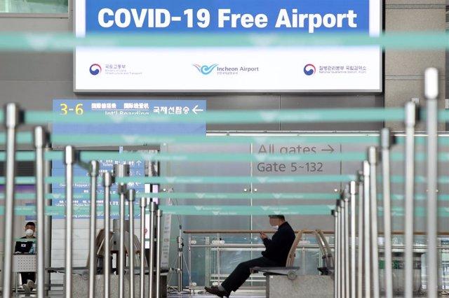 Coronavirus.- Corea del Sur hace la prueba del coronavirus a todos los pasajeros
