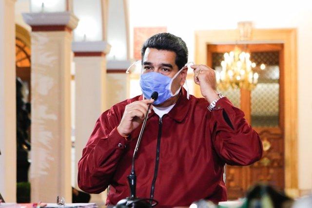 Coronavirus.- Maduro pide a EEUU que levante las sanciones para repatriar a 200