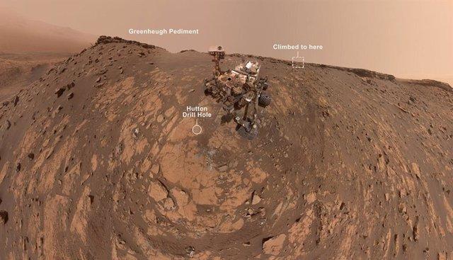 VÍDEO ¿Cómo toma un selfie en Marte el rover Curiosity?