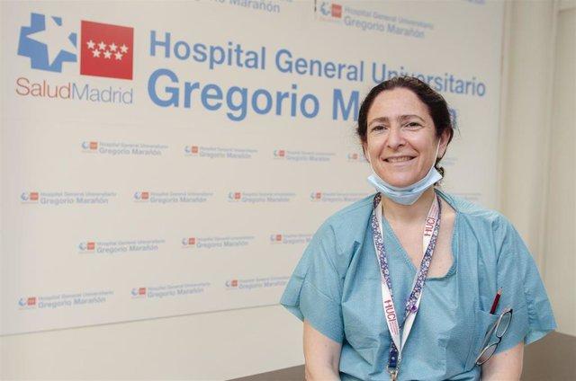 Imagen de recurso de la supervisora de la UCI del Hospital Gregorio Marañón, Cristina Díez.
