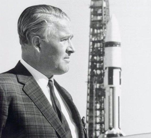 Wernher Von Braun nació hace 108 años: siete citas imprescindibles