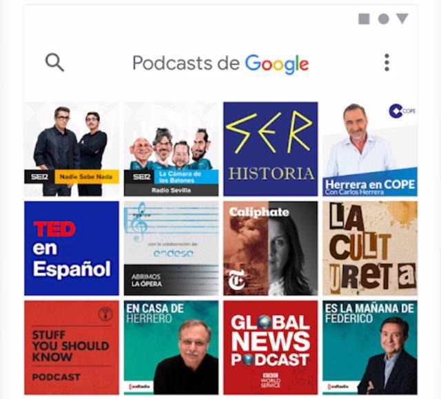 Google Podcasts para Android introduce la autodescarga de nuevos episodios con s