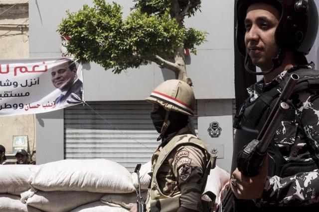 Egipto.- HRW denuncia torturas y desaparición forzada de menores por parte de la