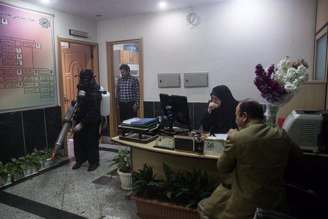 Coronavirus.- Irán eleva el balance del coronavirus a más de 23.000 personas con