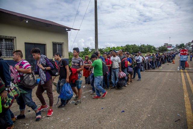 """Coronavirus.- México y Guatemala acuerdan reforzar la """"vigilancia epidemiológica"""